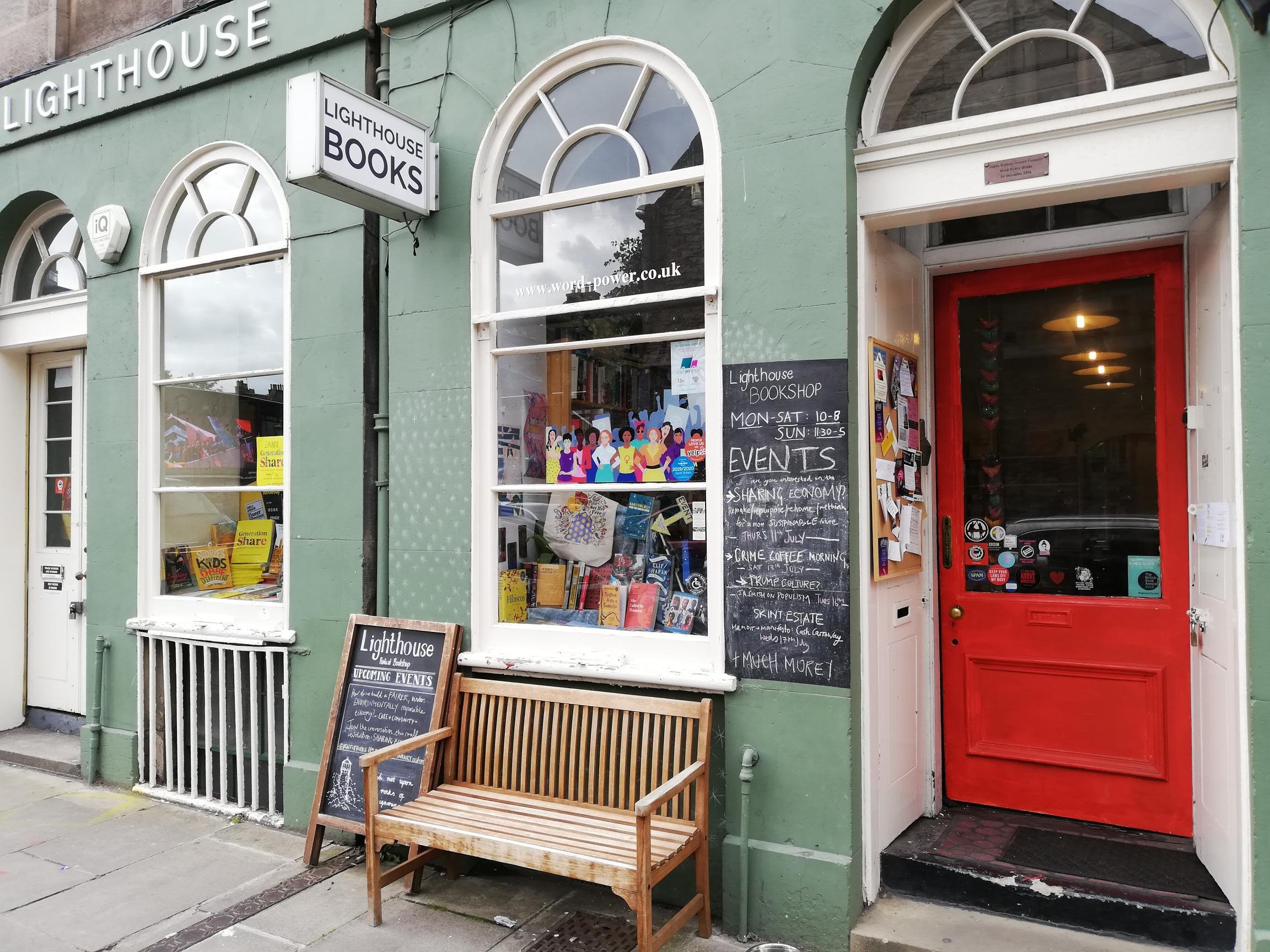 Lighthouse Bookshop - Lighthouse is Scotland's leading political bookshop. An activist, intersectional, feminist, lgbtq+ community space. Their events range from the annual Radical Book Fair (14-17th Nov 2019) to poetry launches, fiction book groups and feminist zine workshops. Look out for Storytelling nights they also host in August!Open 7 daysMon-Sat 9.30am-9.00pm/Sun 10.00am-8.00pm