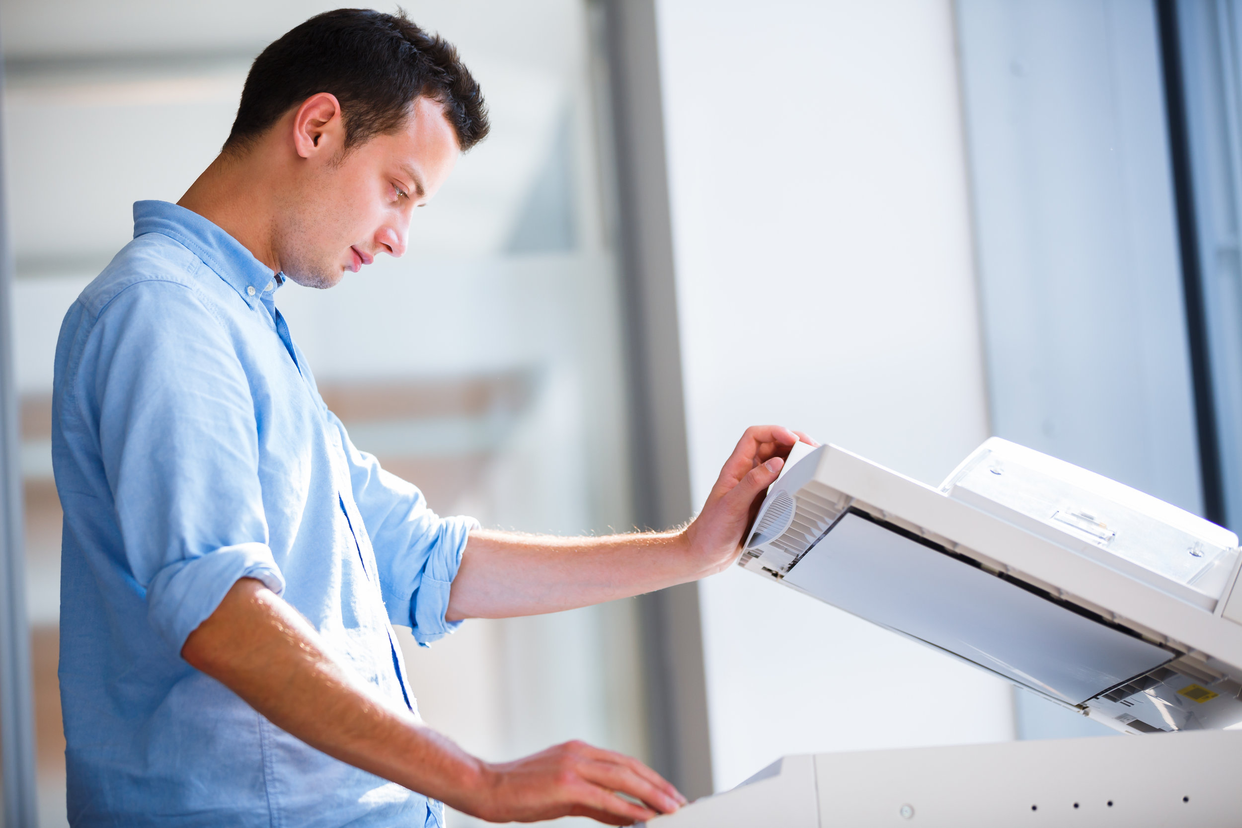 Print Services - The ability to quickly and cost effectively print and duplicate documents is the cornerstone of Print Management Services, which consist of document printing, finishing & distribution, and records management.