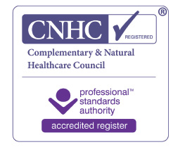 Registered with CNHC Complementary & Natural Healthcare Council