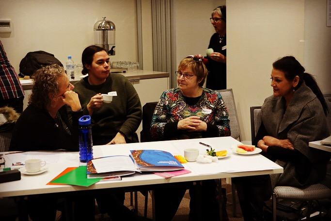 Talking #Treaty over a cuppa