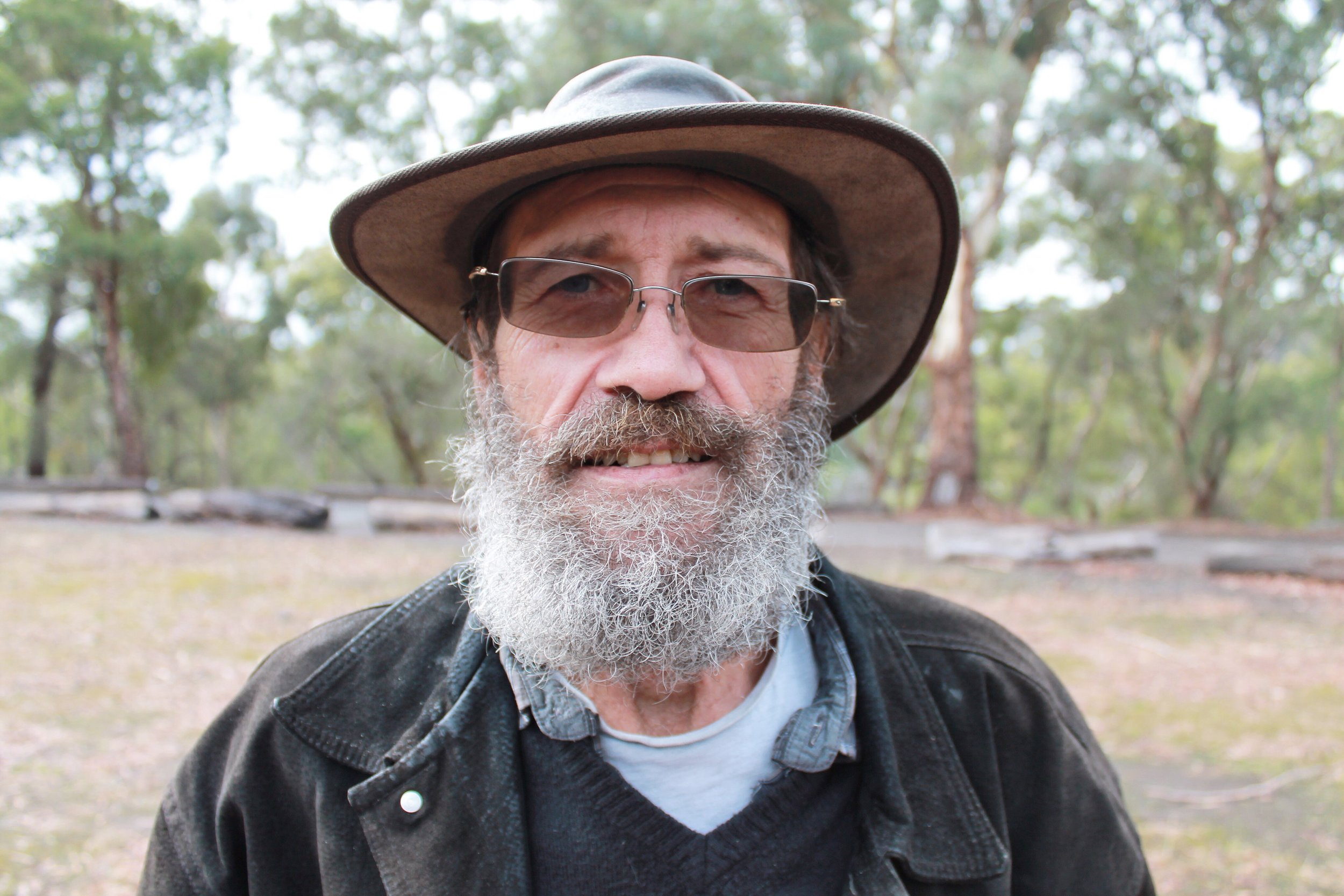Wurundjeri Elder Dave Wandin.