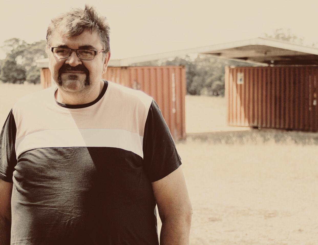 Damein Bell CEO of Gunditj Mirring Traditional Owner Aboriginal Corporation.