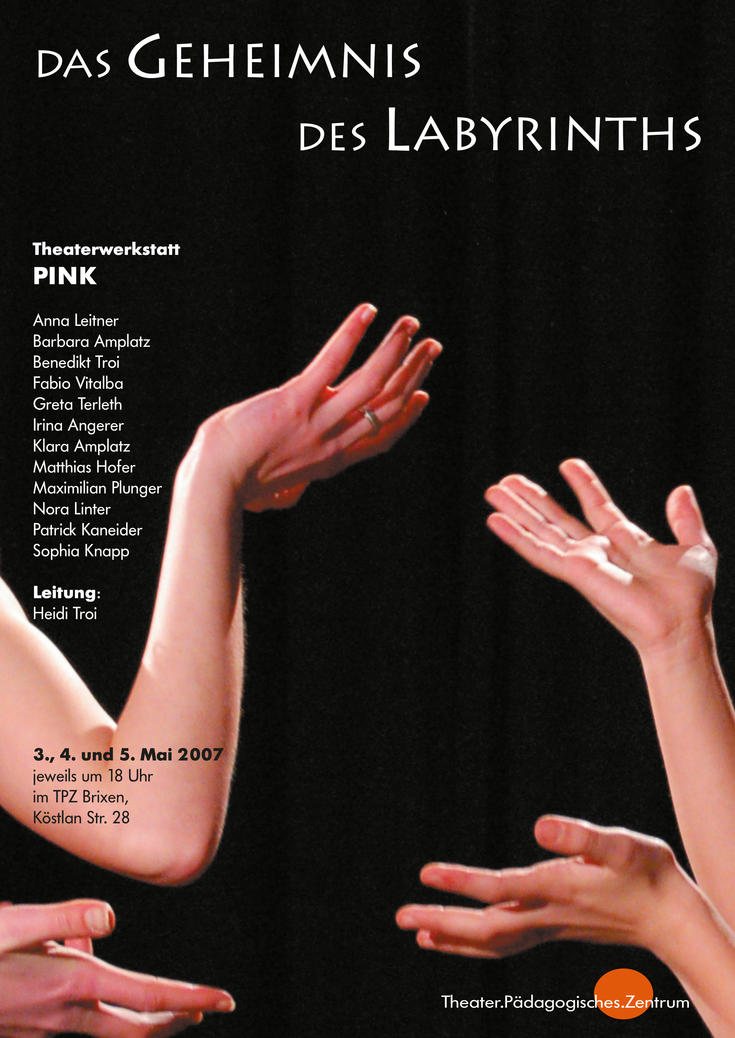 2007 pink Geheimnis des Labyrinths Plakat.jpg