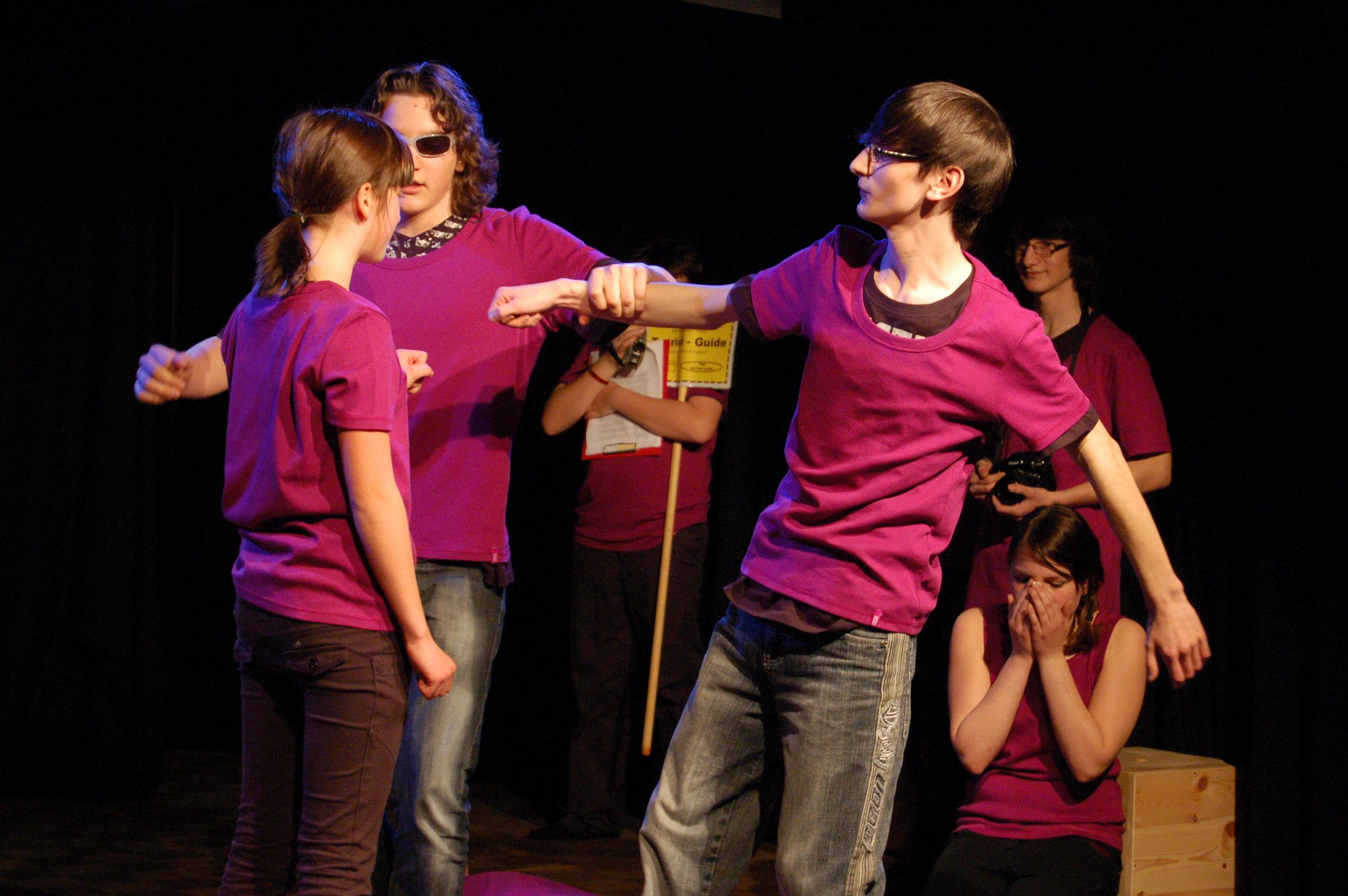 2009 pink Romeo und Julia Sightseeing 06.JPG