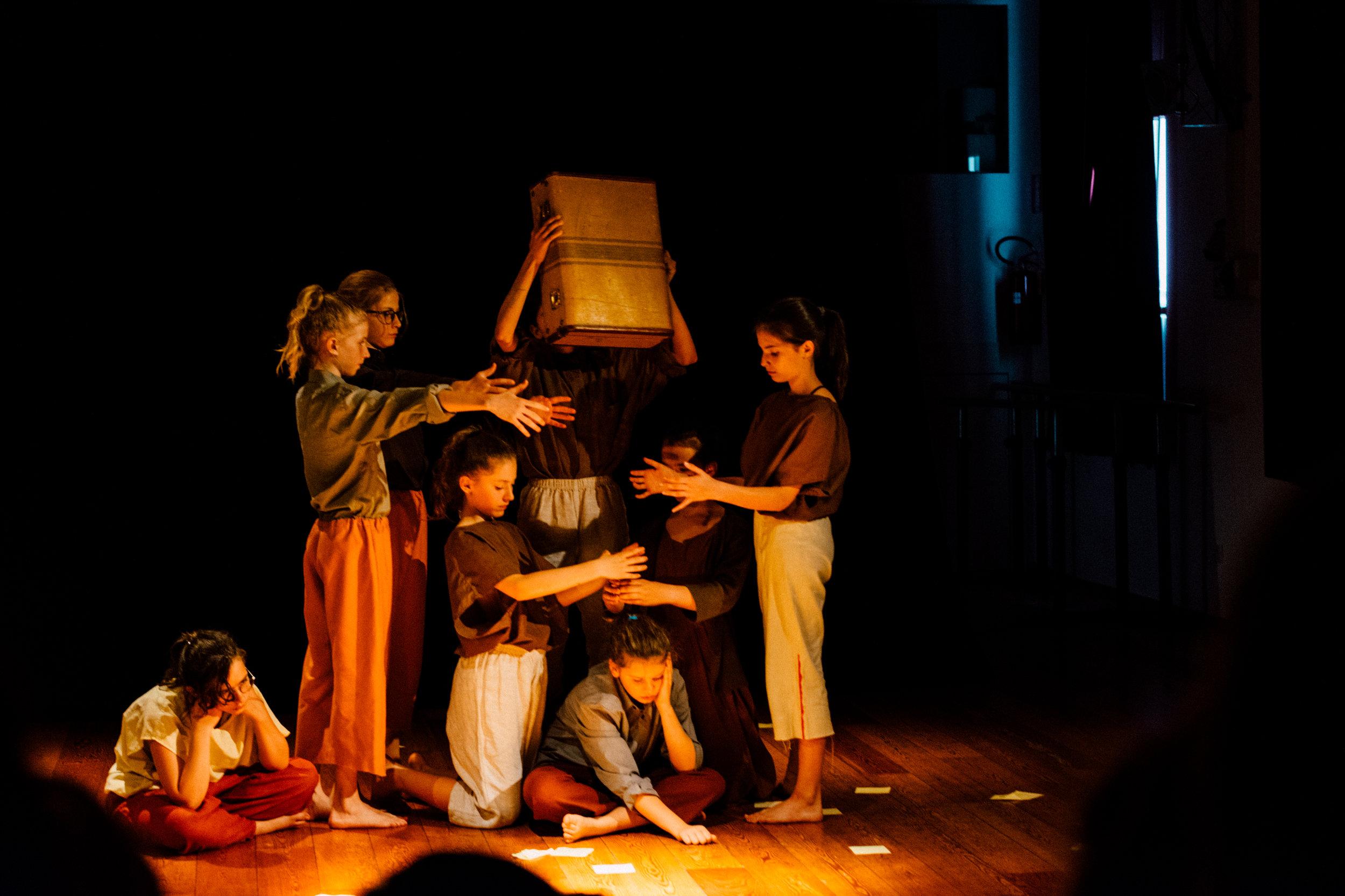 theaterlehrgang schritte in die theaterpädagogik