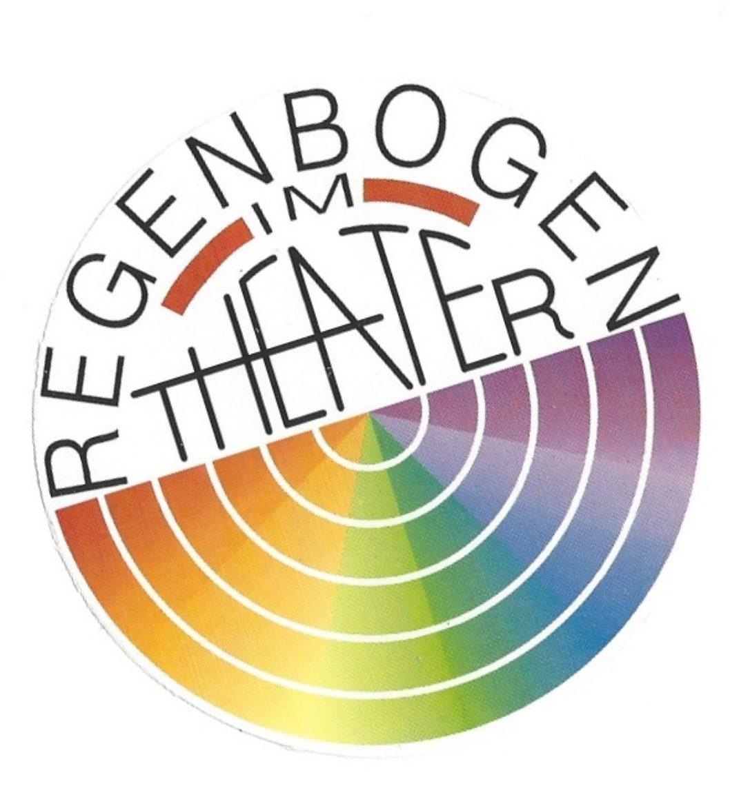 Christine Monthaler entwickelt aus dem Stempel-Logo ein rundes Logo, das als Aufkleber gedruckt wird.