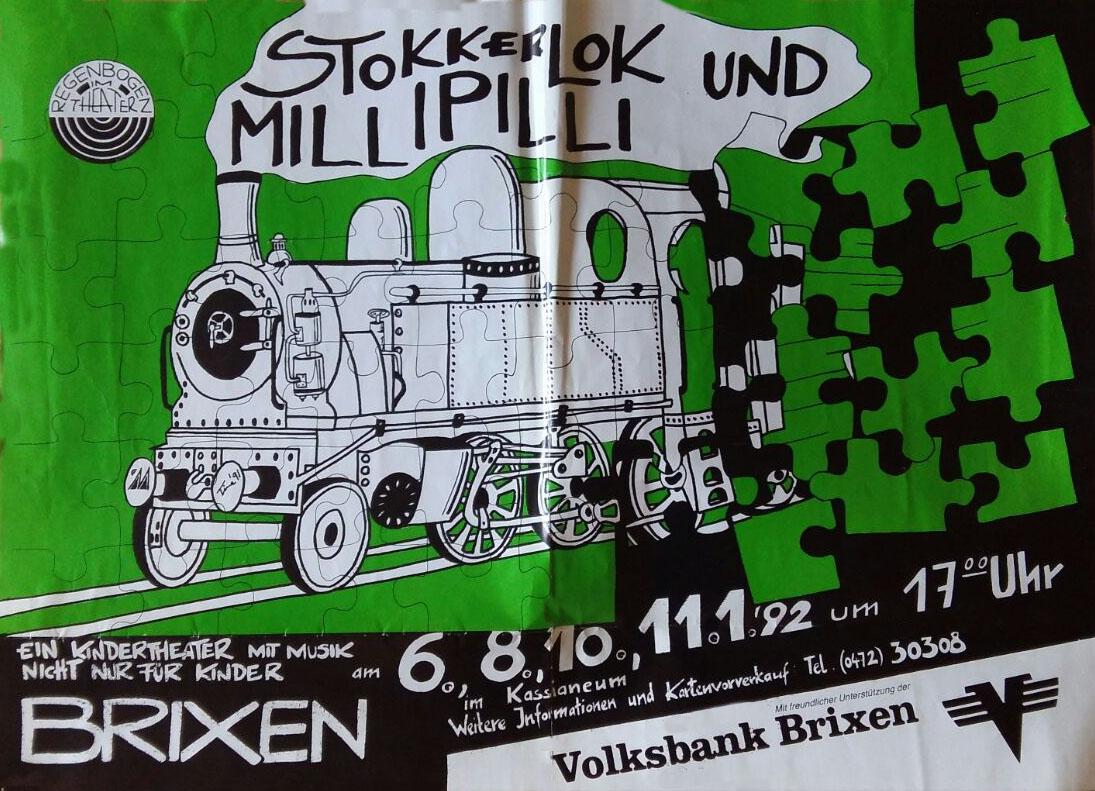 1992 Stokkerlokk und Millipilli Plakat.jpg