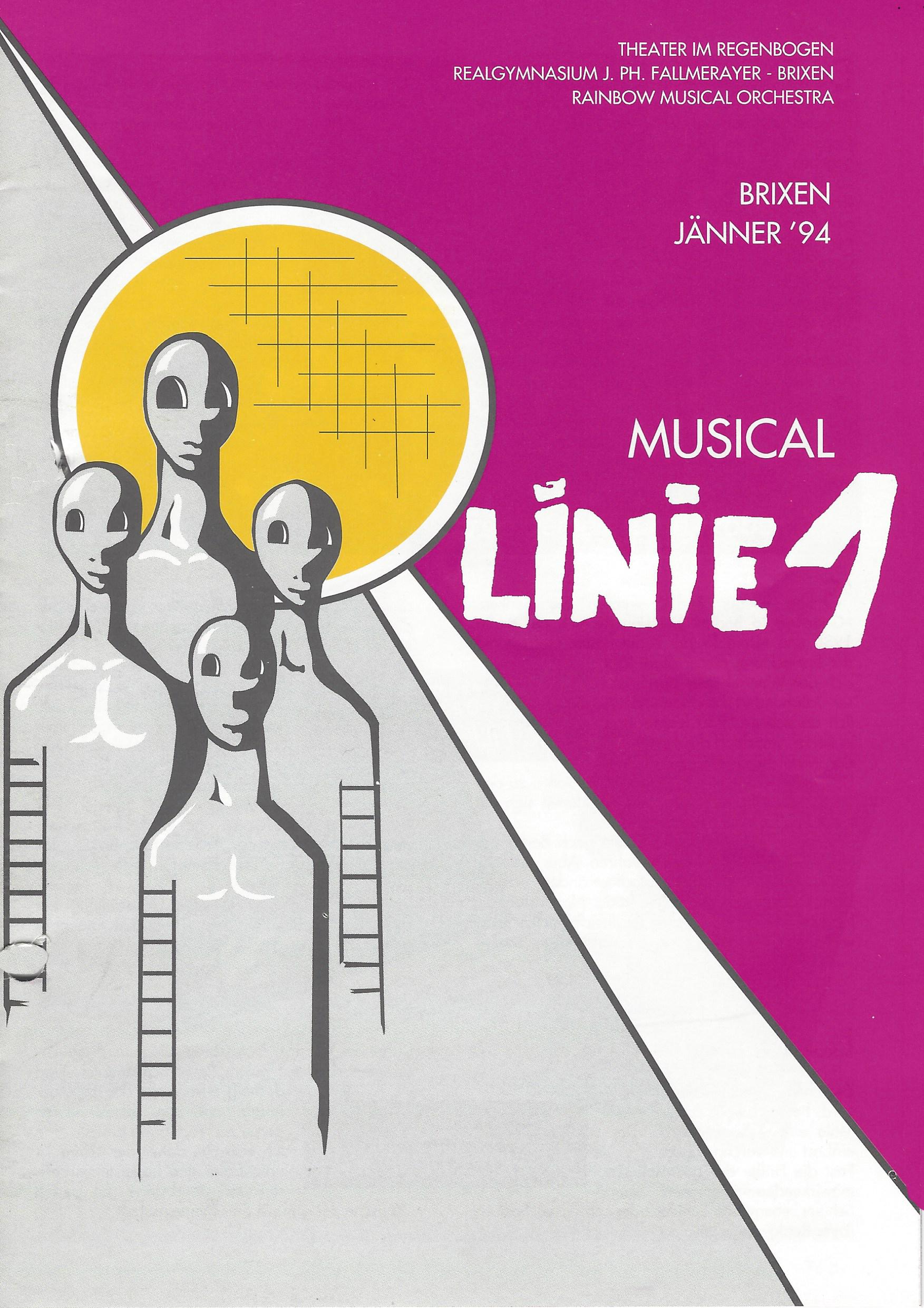 1994 Linie 1 Plakat.jpg
