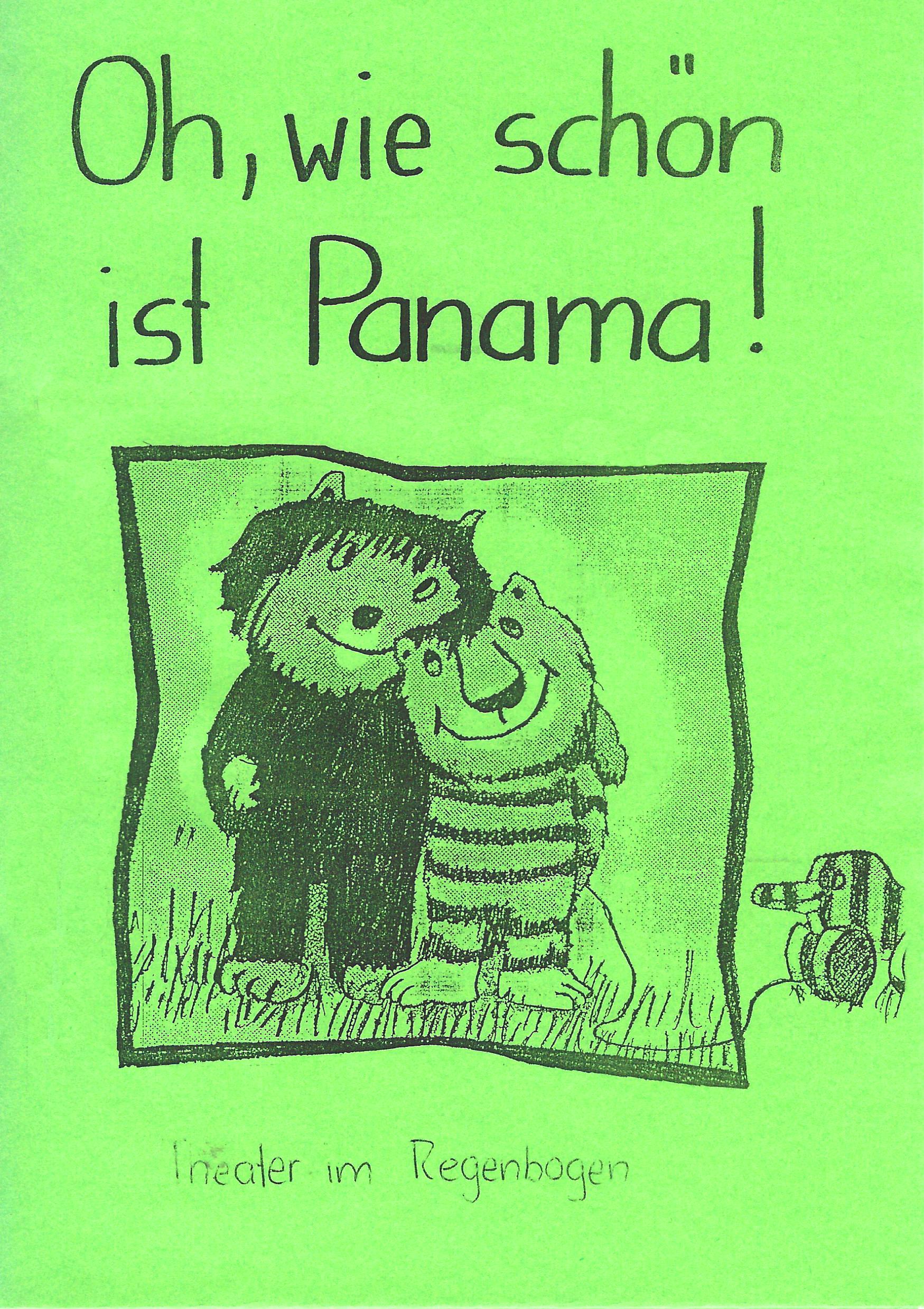 1994 O wie schön ist Panama Plakat.jpg