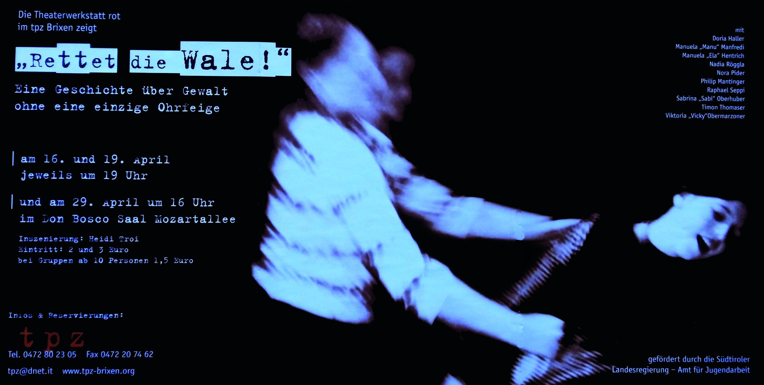 2002 rot Rettet die Wale Plakat.jpg