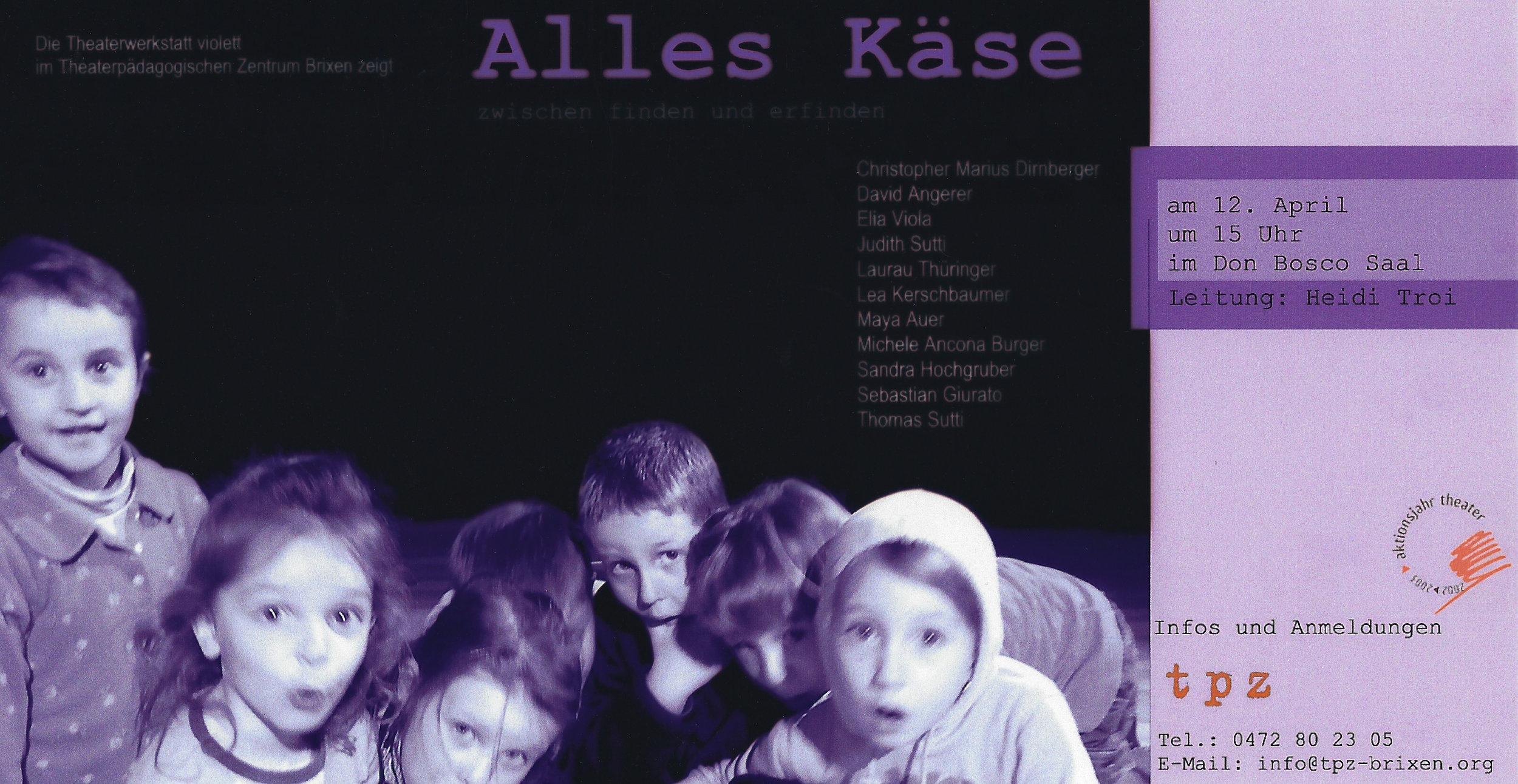 2003 violett Alles Kaese Plakat.jpg