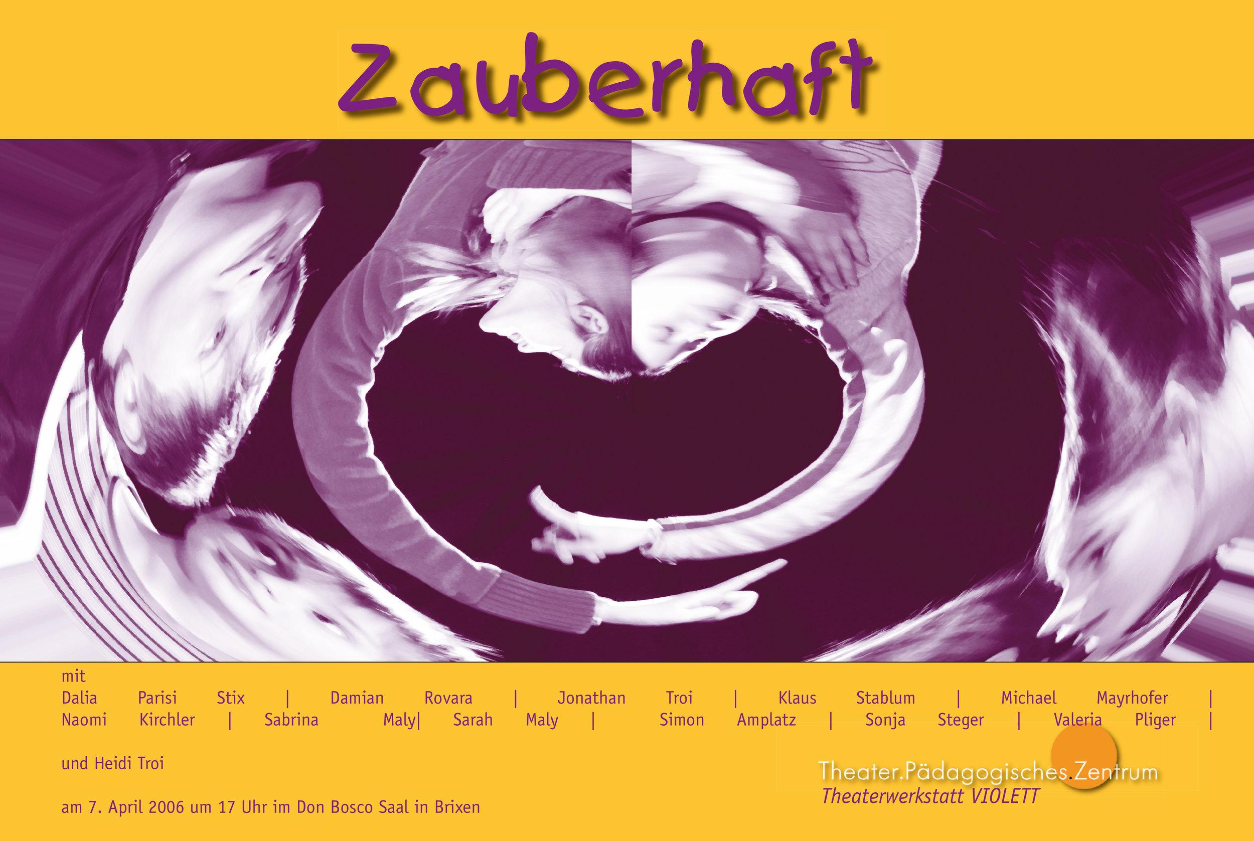 2006 violett Zauberhaft Plakat.jpg