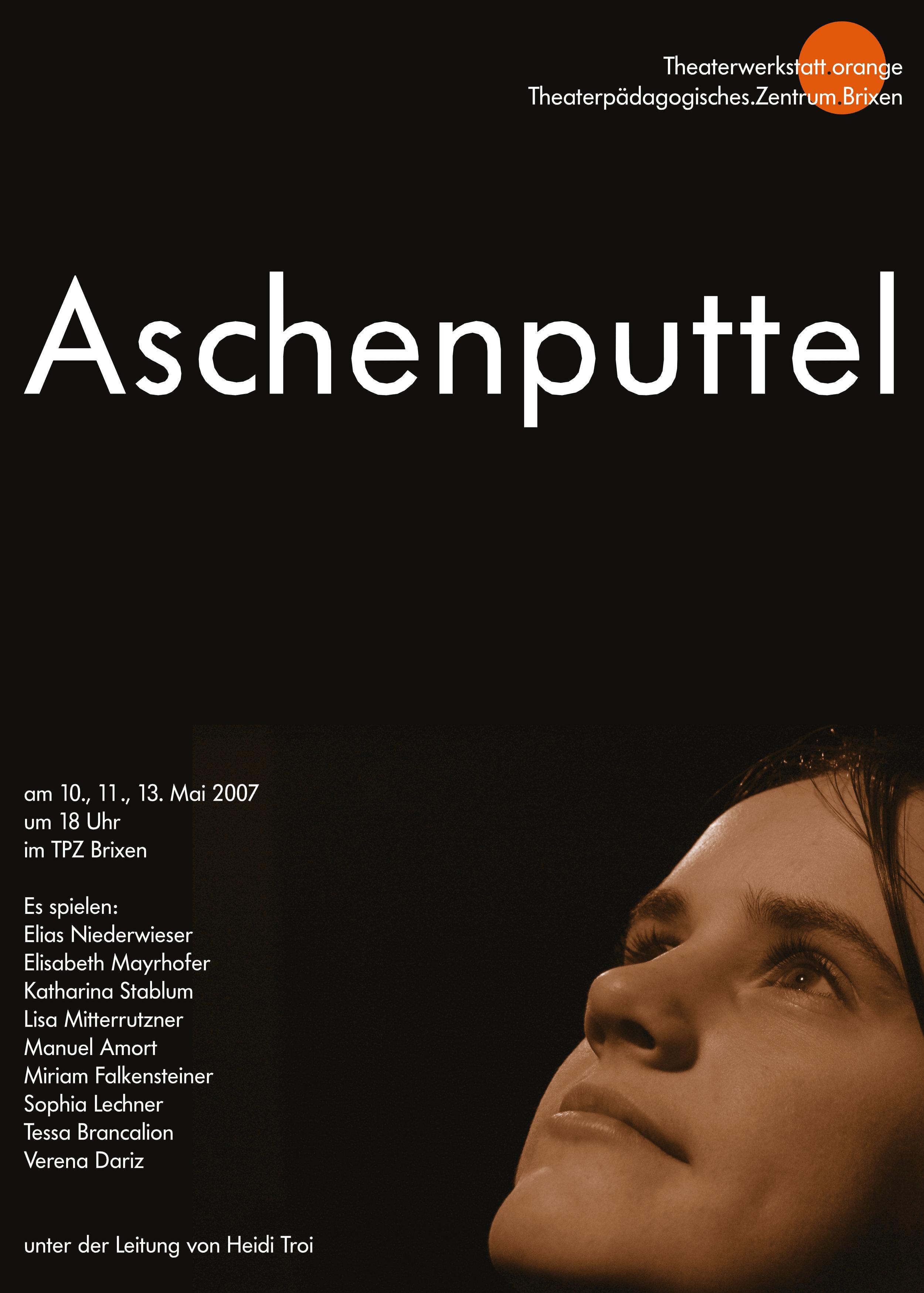 2007 orange Aschenputtel Plakat.jpg
