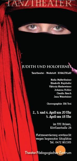 2008 kobaltblau Judith und Holofernes Plakat.jpg