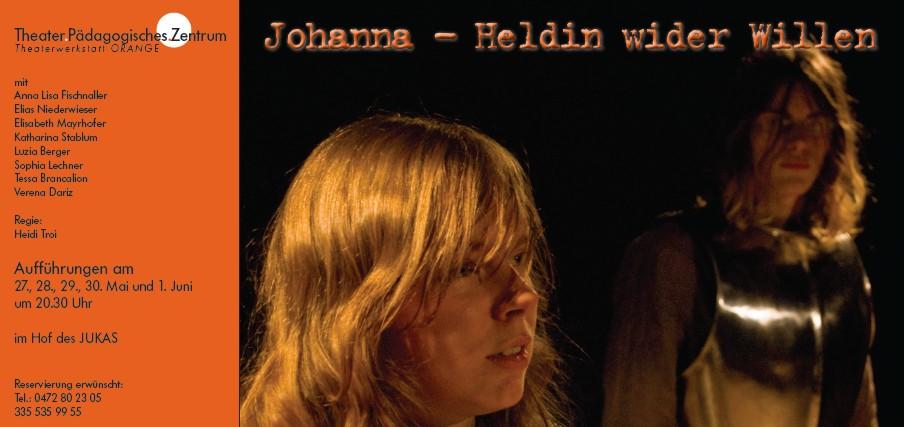 2009 orange Heldin wider Willen Plakat.jpg