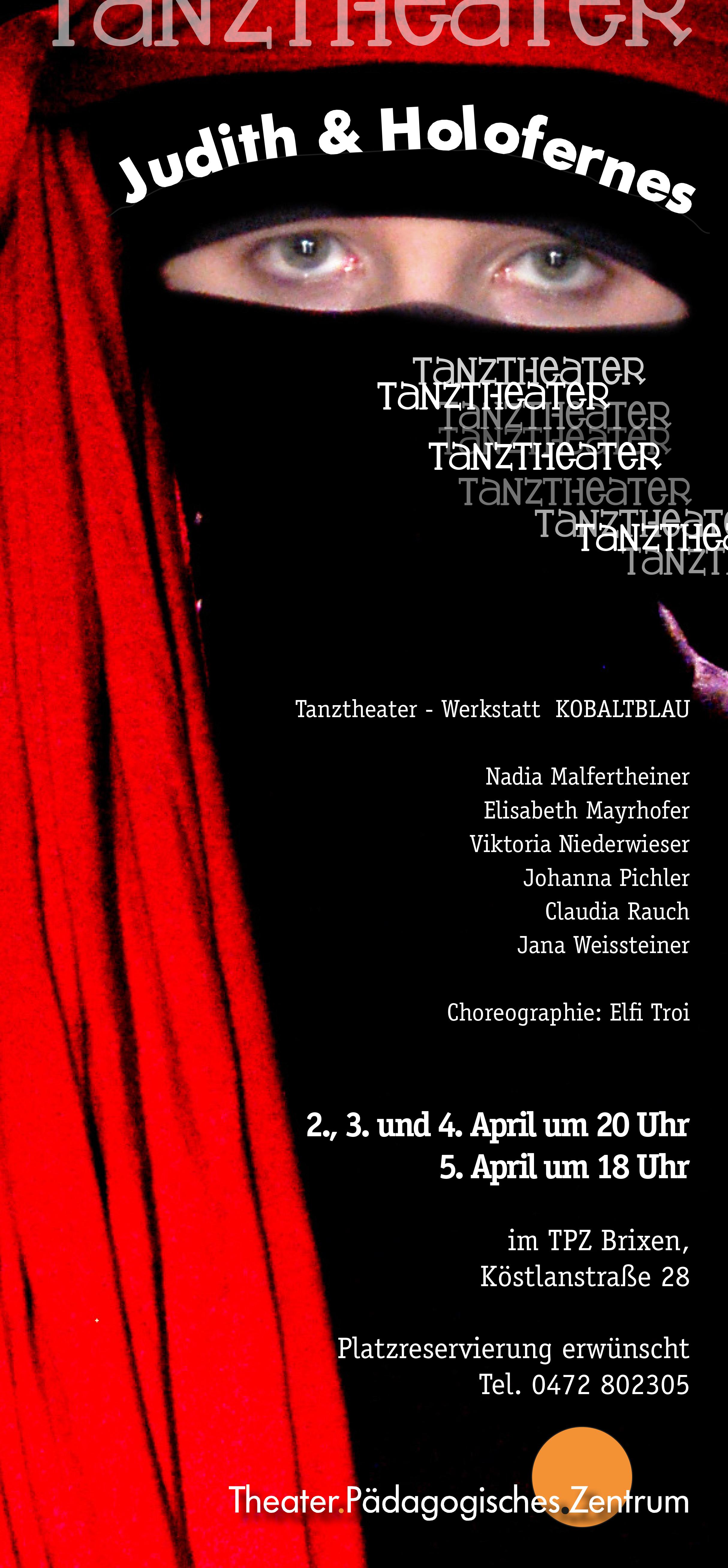 2009 kobaltblau Judith und Holofernes Plakat.jpg