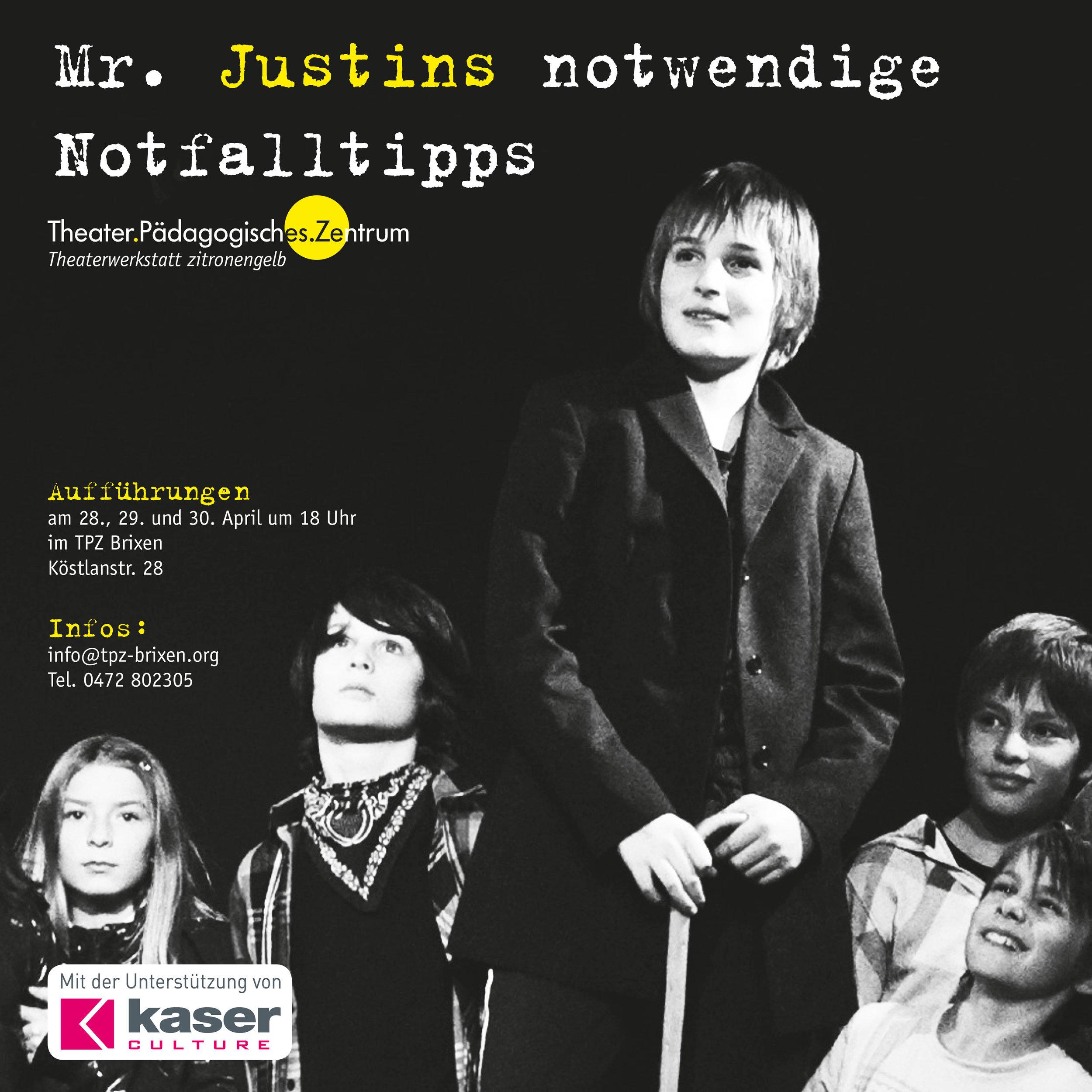 2011 zitronengelb Mr justin plakat.jpg