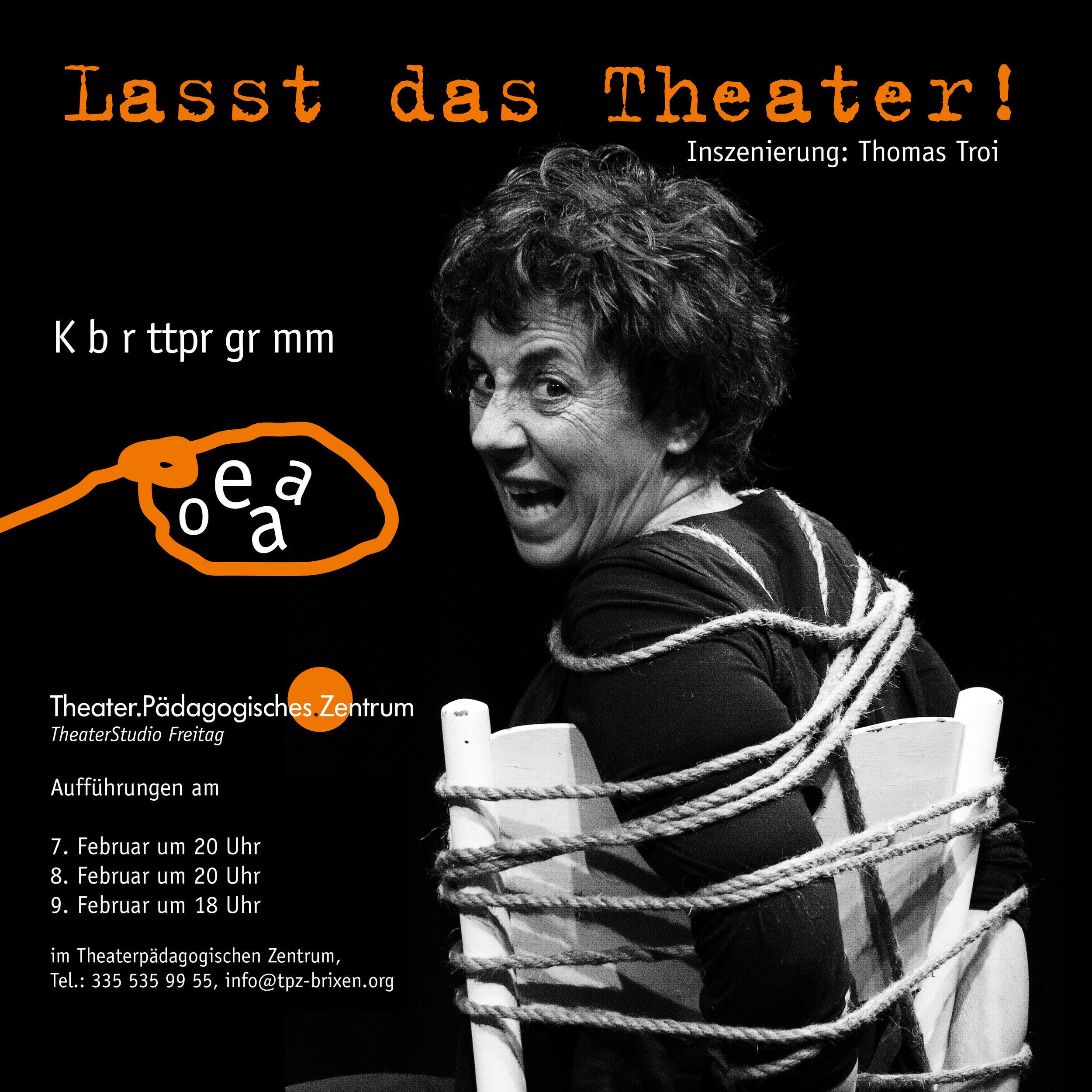 2014 TSF Lasst das Theater Plakat.jpg