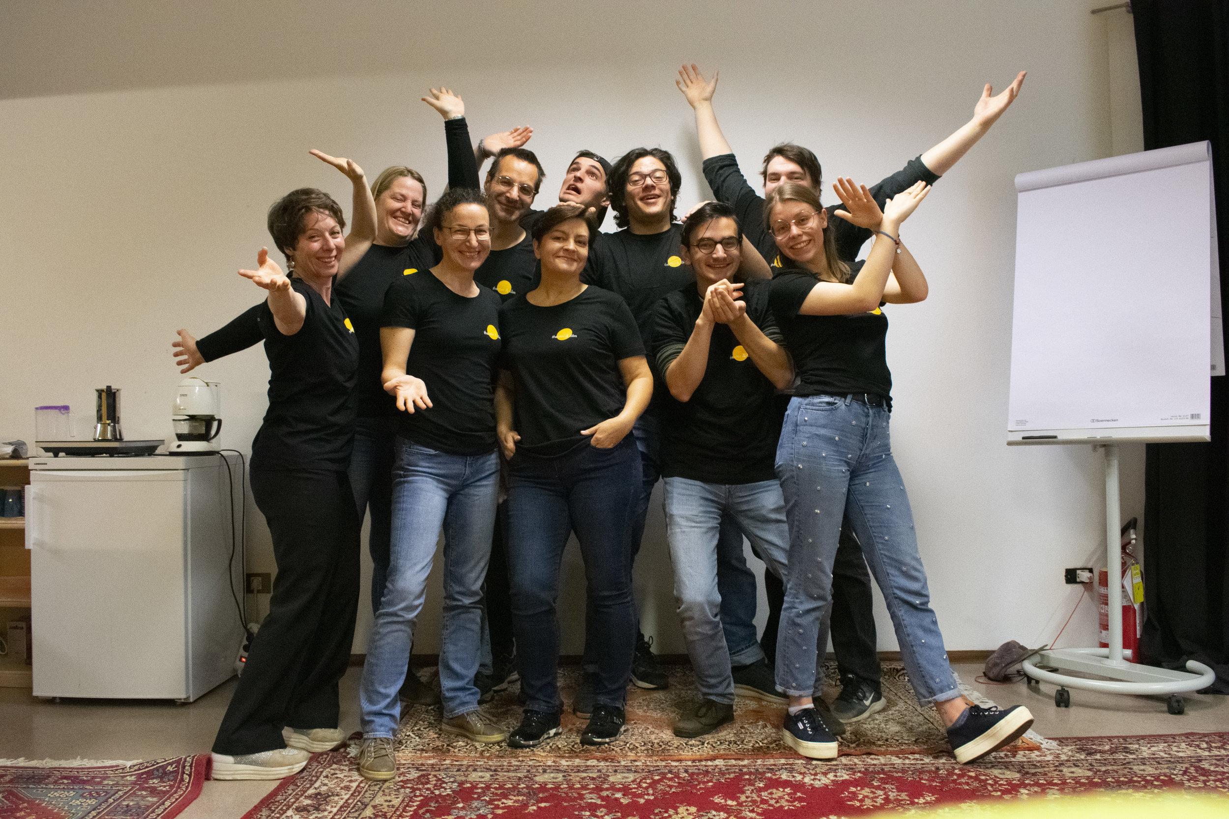 Theaterpädagogisches Zentrum Sozialgenossenschaft - Die Gründungsmitglieder