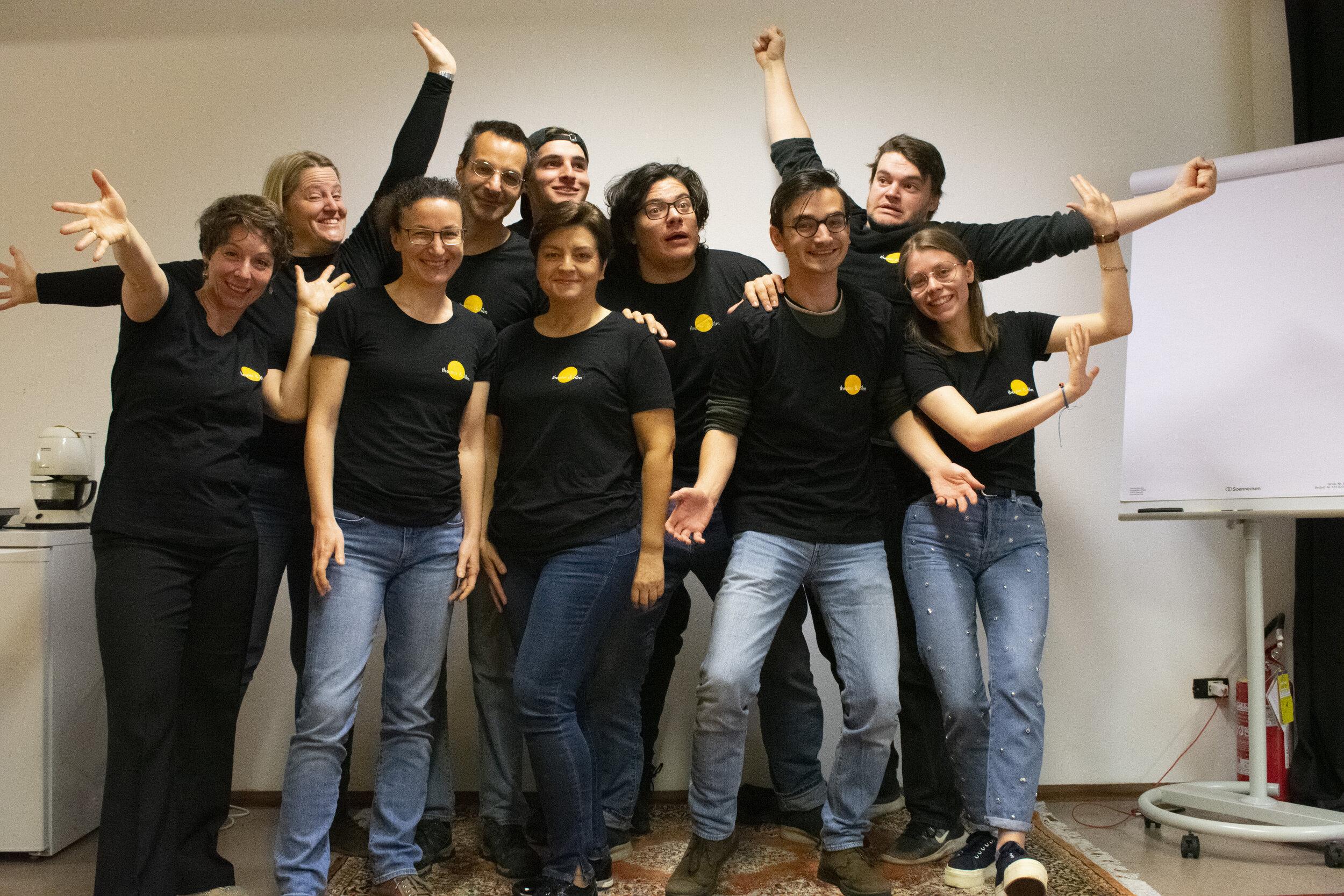 Die Gründungsmitglieder der Sozialgenossenschaft Theaterpädagogisches Zentrum