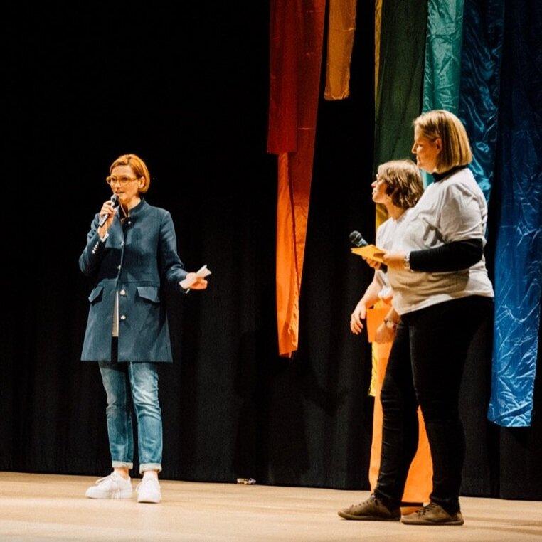 """""""Wir sind stolz auf euch."""" - Stadträtin für Kultur Monika Leitner"""