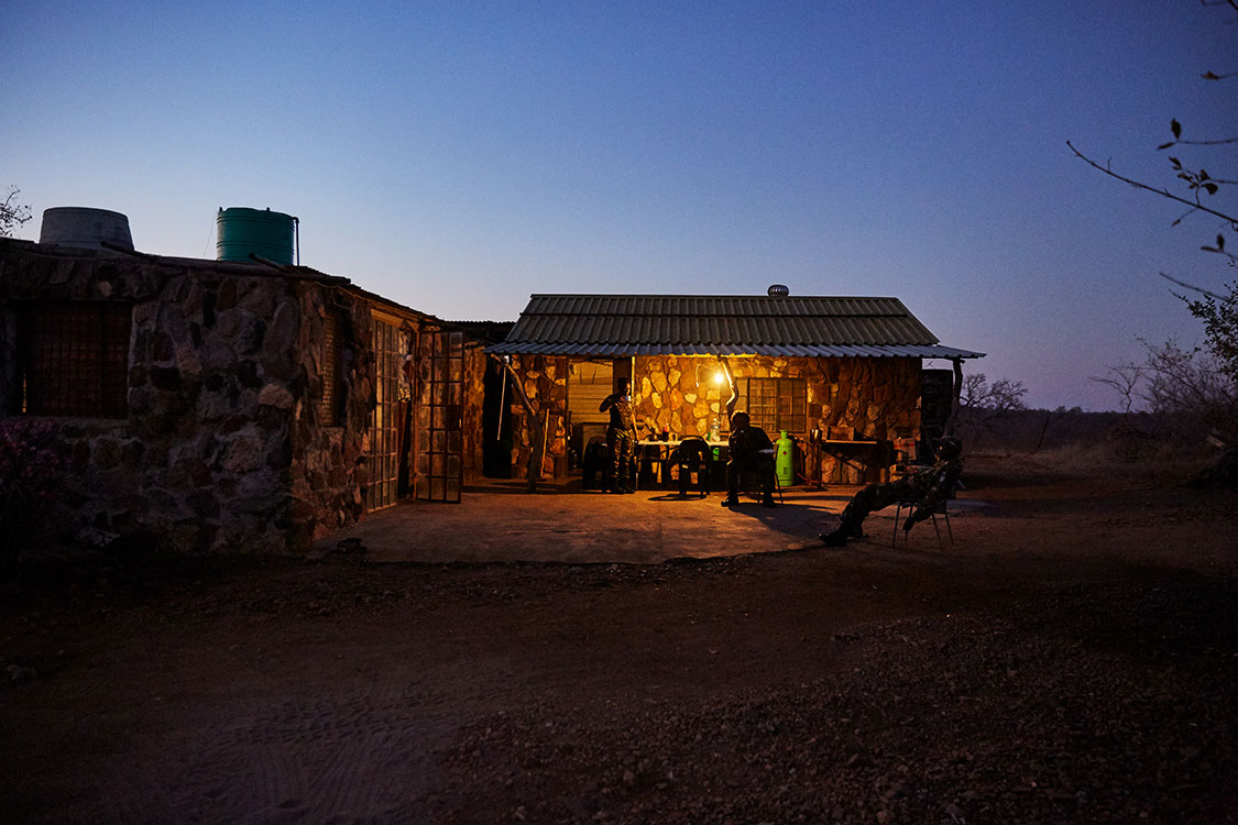 Grietjie Camp by night