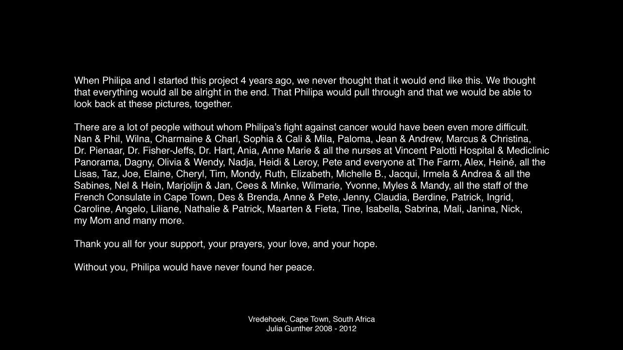 Philipa's Story.