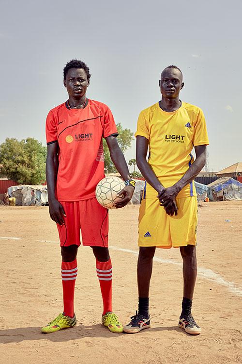 Steven Okony (l) & Peter Geu