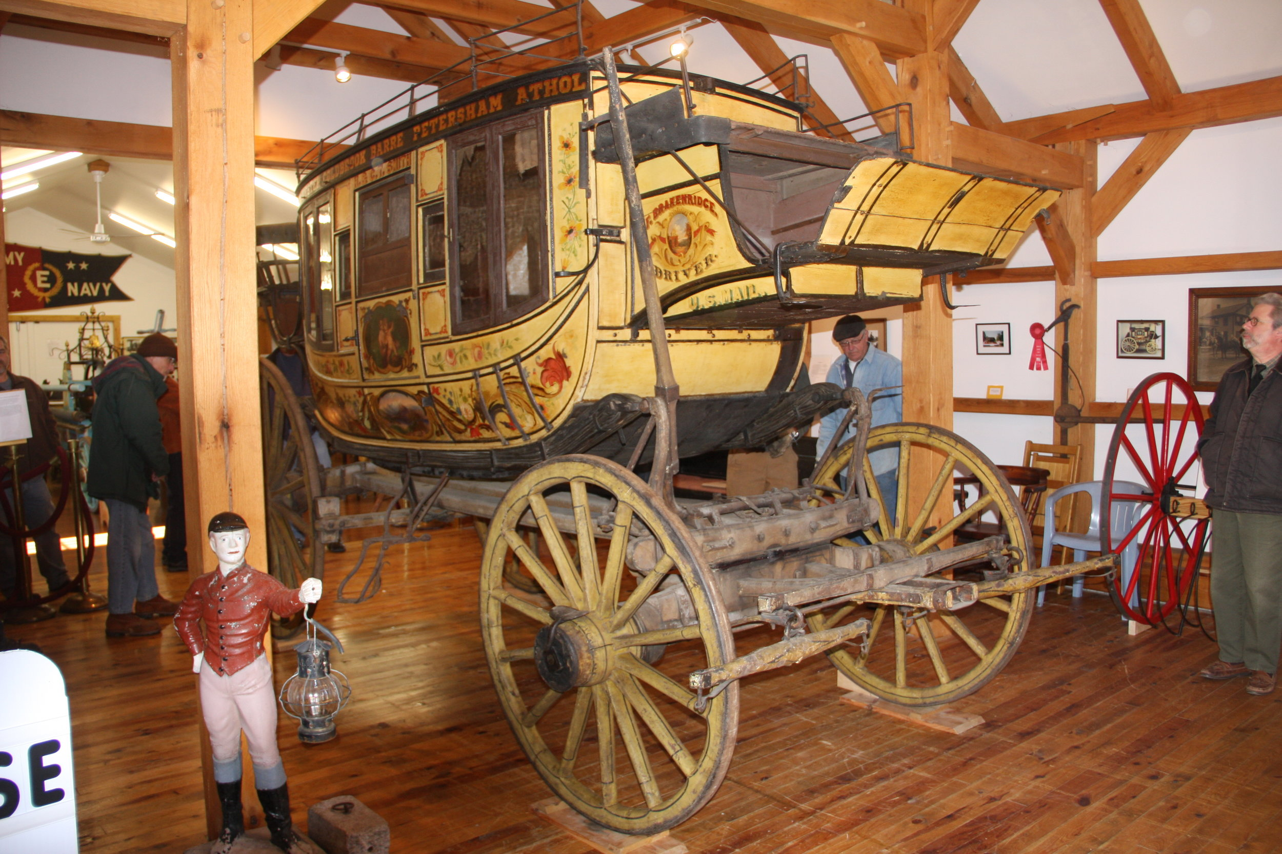 Barre Stagecoach on Display