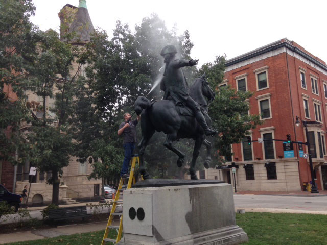 Howard on Horse