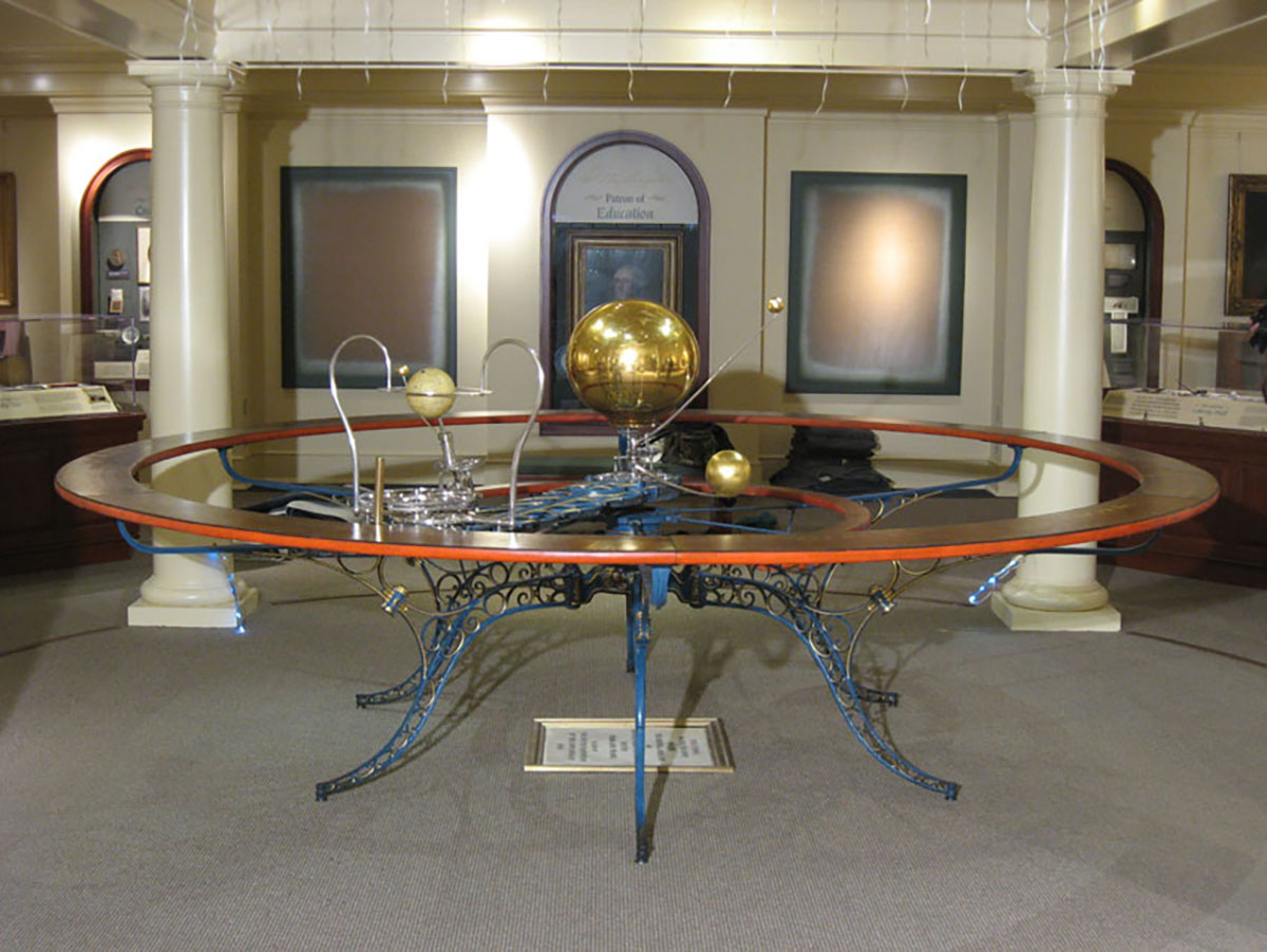 Orrery at Washington and Lee University