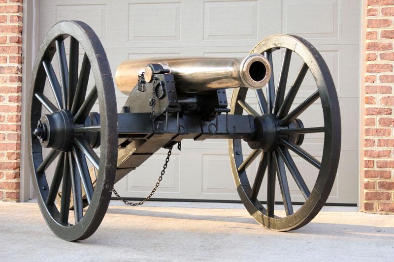 Napoleon Civil War Cannon