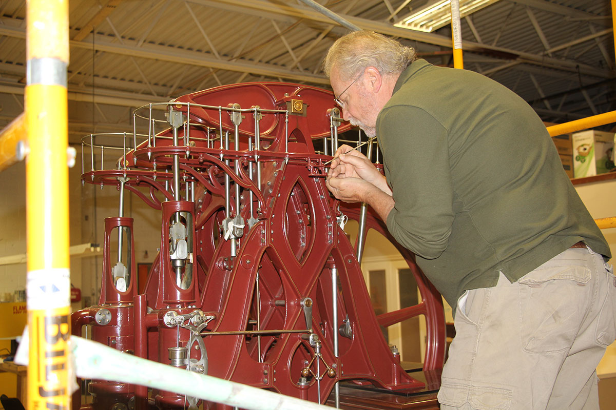 Corliss Pumping Engine Model