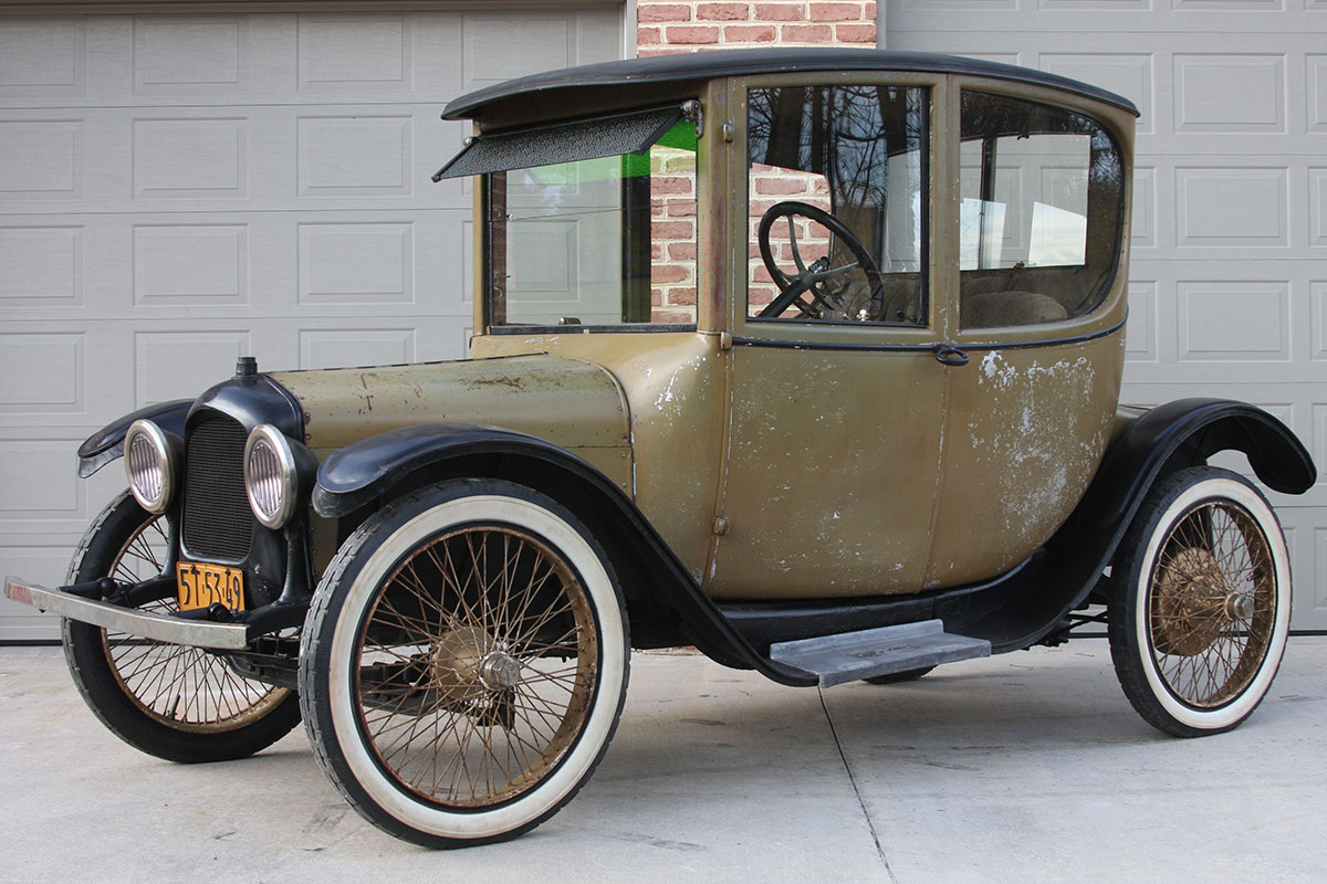 1917 Wood Dual Powered Coupe
