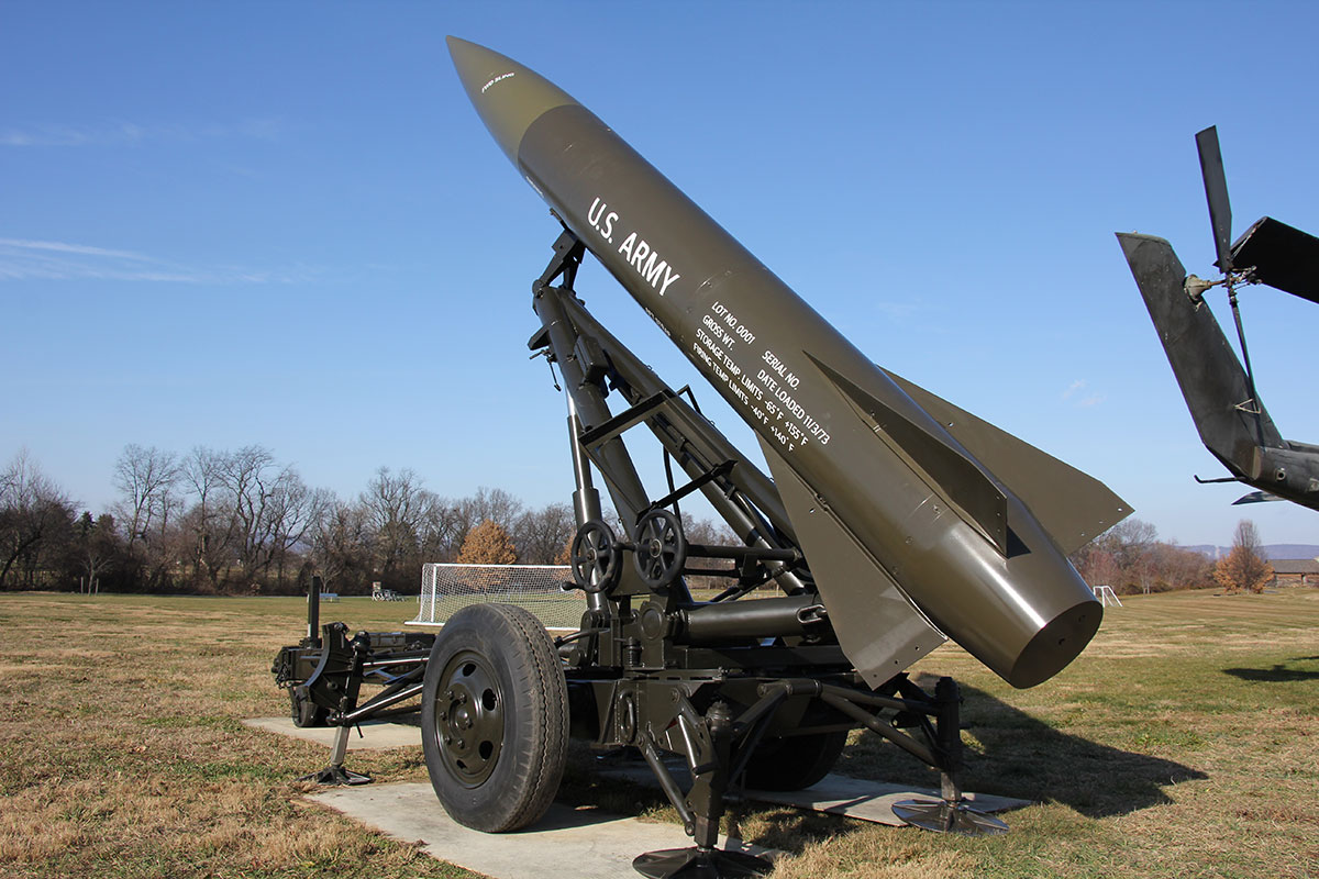 Featured Project - B.R. Howard was contracted to prepare a Lance Missile and trailer for exhibit on a trail of history at the U.S. Army Hertitage and Education Center.
