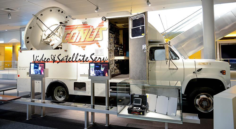 Conus Satellite Truck
