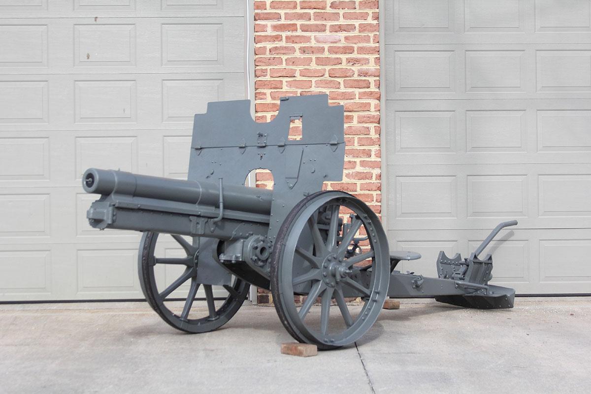 WWI German 77 mm QF Artillery