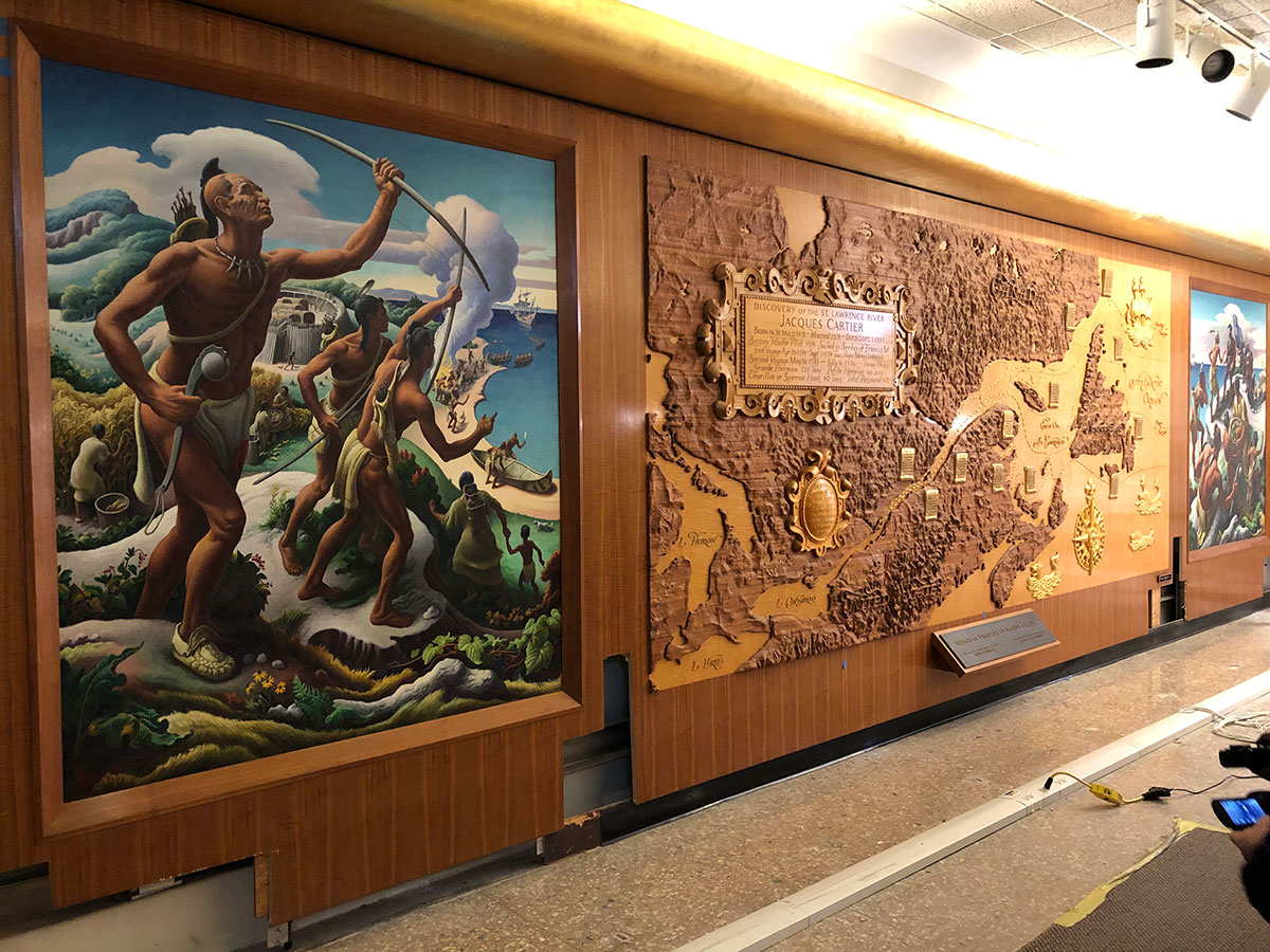 Copy of Mural and Relief Map Removal at Power Station