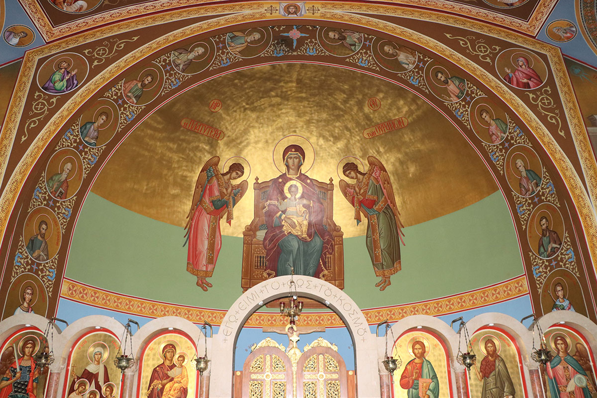 St Sophia Decorative Murals