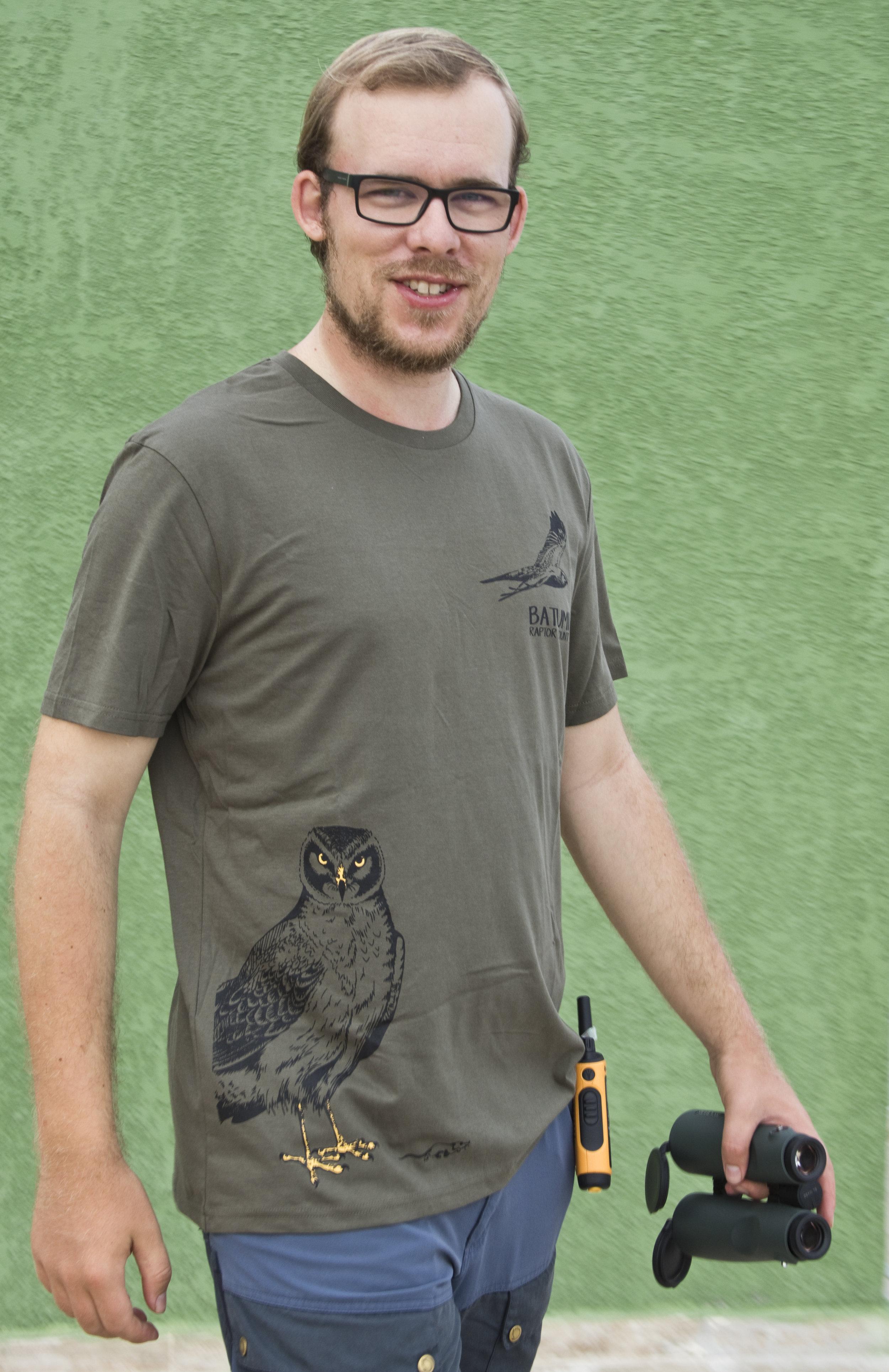 The new BRC shirt. Photo by Triin Kaasiku.