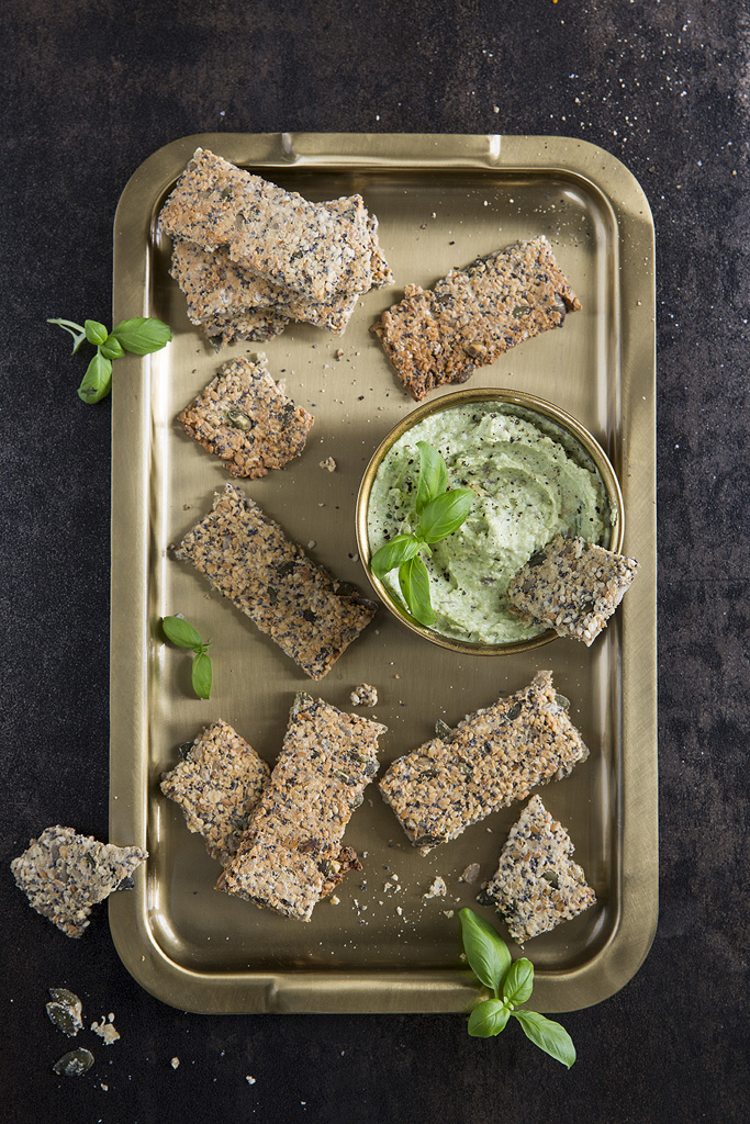seeded cracker avocado dip simple things magazine