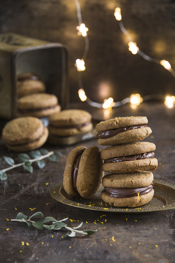 ginger cookie sandwiches recipe
