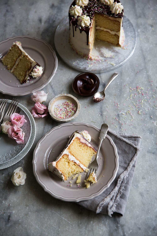 Anges de Sucre Birthday Cake