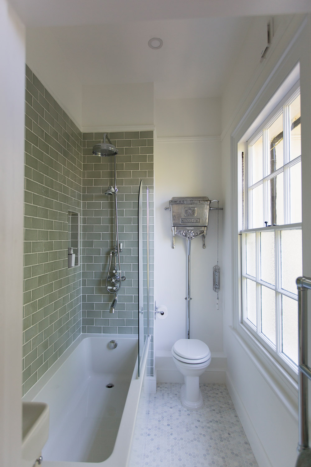 Original Ensuite becomes a third bathroom