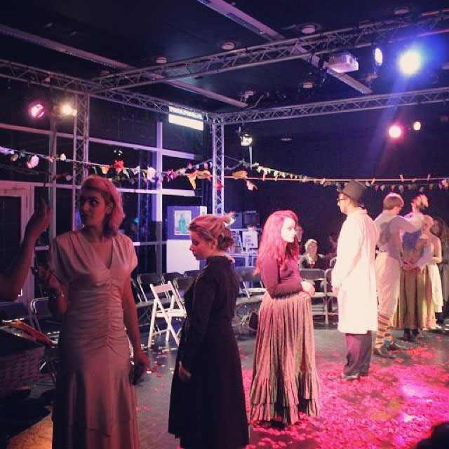 Blood Wedding at South Essex College, lead and directed by Eleanore Frances.
