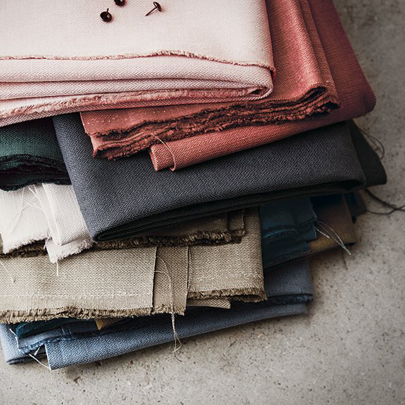 Fabrics - Gorgeous textures and colours