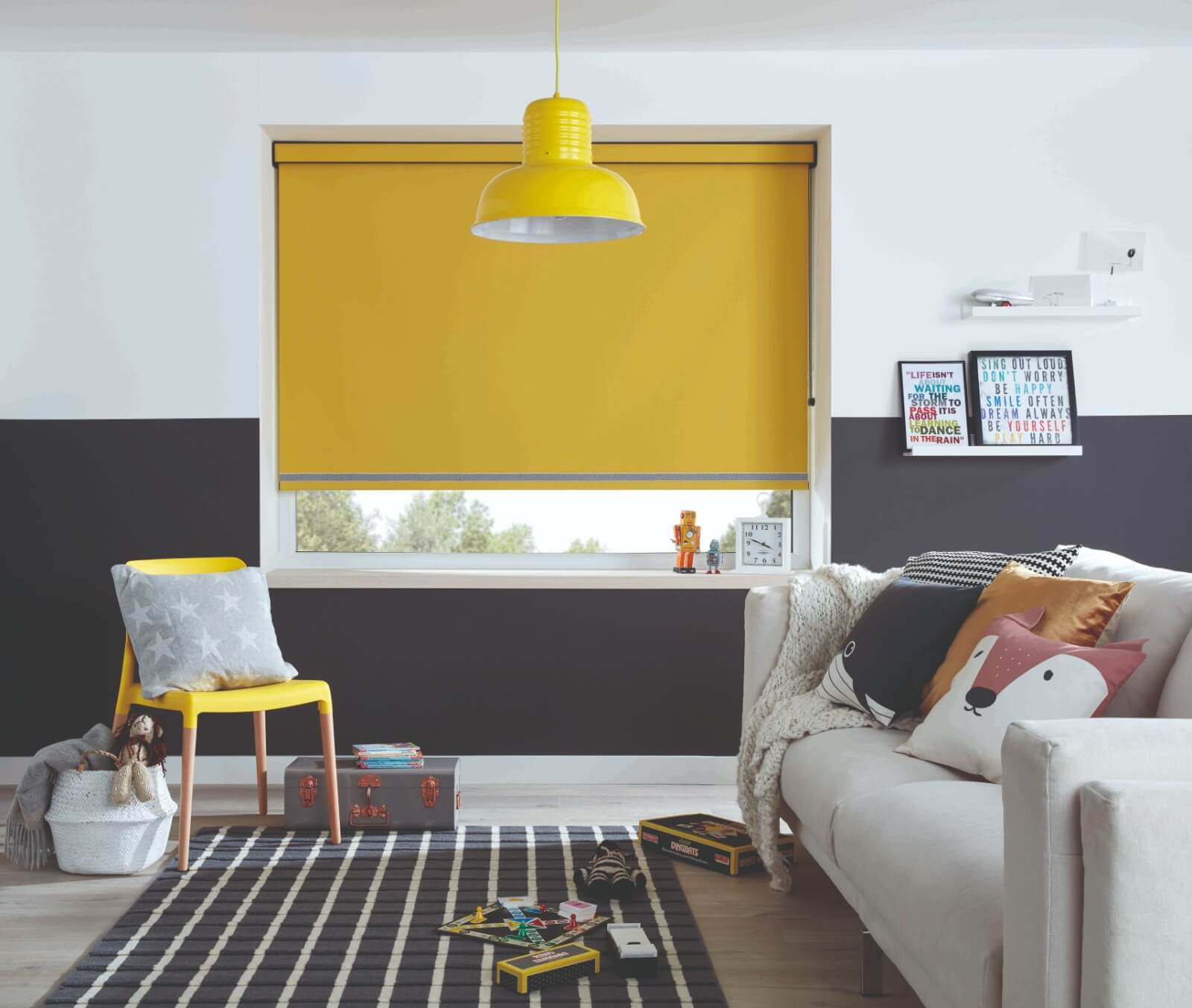 Blinds ambition - Blinds are an important part of window dressings, either as secondary dressing to curtains or a main dressing themselves.