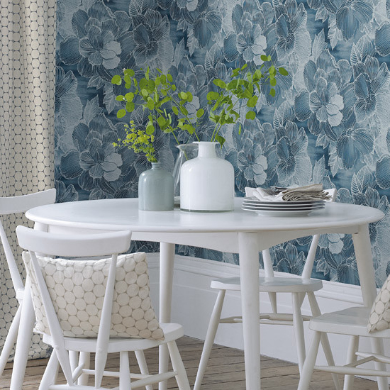 Wallpaper - A wide range of designer-led, quality wallpapers, which can be purchased online or incorporated in schemes.