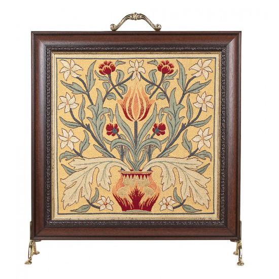 Firescreens - Elegant tapestry firescreens make an eye-catching addition to any fireplace.