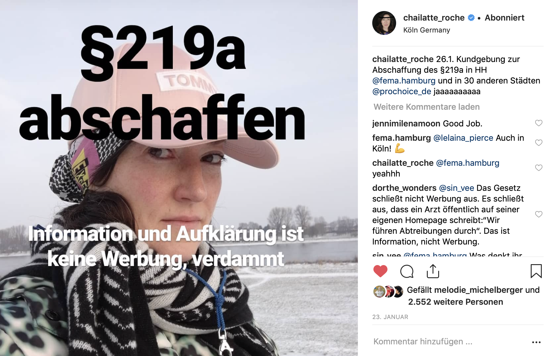 Charlotte Roche Instagram